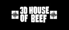 3D House of Beef - Logo