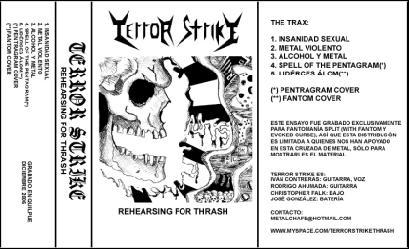 Terror Strike - Rehearsing for Thrash