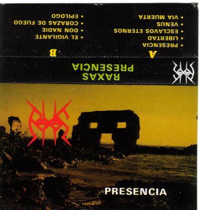 Raxas - Presencia