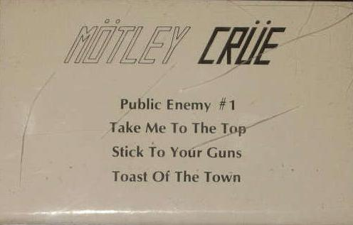 Mötley Crüe - Leathur Demo