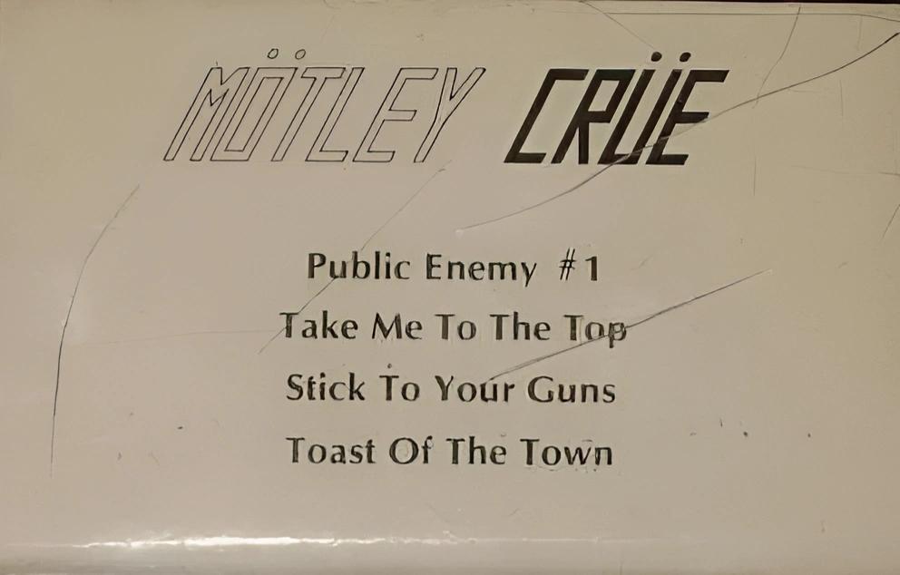 Mötley Crüe - Leathur Demo