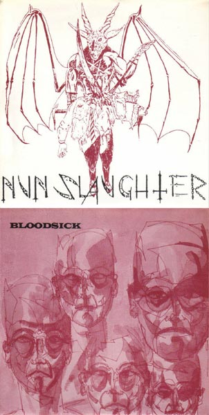 Nunslaughter / Bloodsick - Nunslaughter / Bloodsick