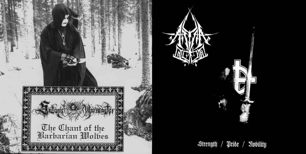 Satanic Warmaster / Aryan Blood - Aryan Blood / Satanic Warmaster