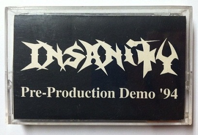 Insanity - Pre-Production Demo '94