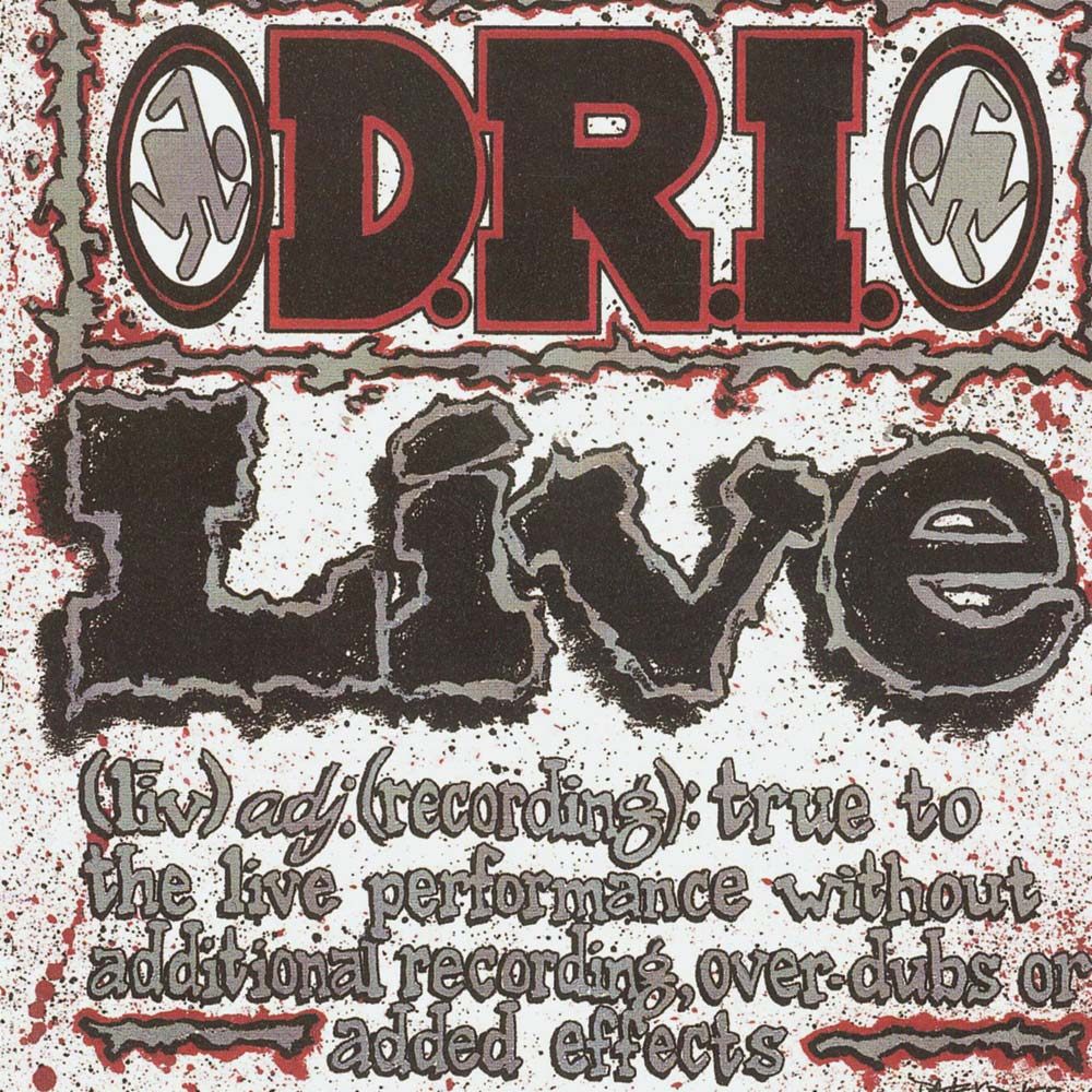 D.R.I. - Live