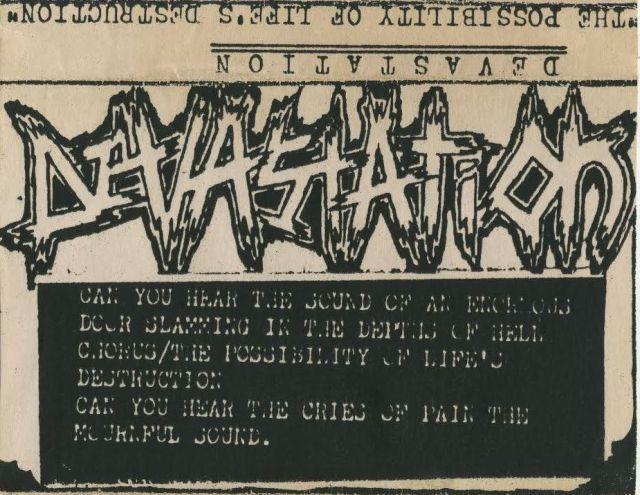 Devastation A.D. - The Possibility of Life's Destruction