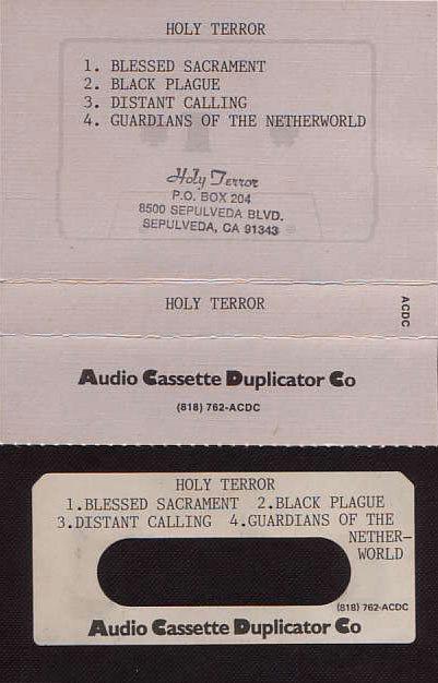 Holy Terror - 1986 Demo