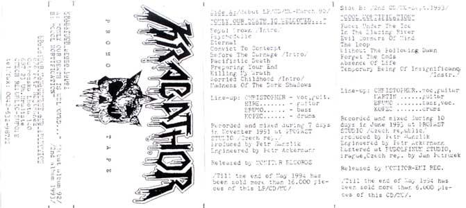Krabathor - Promo Tape