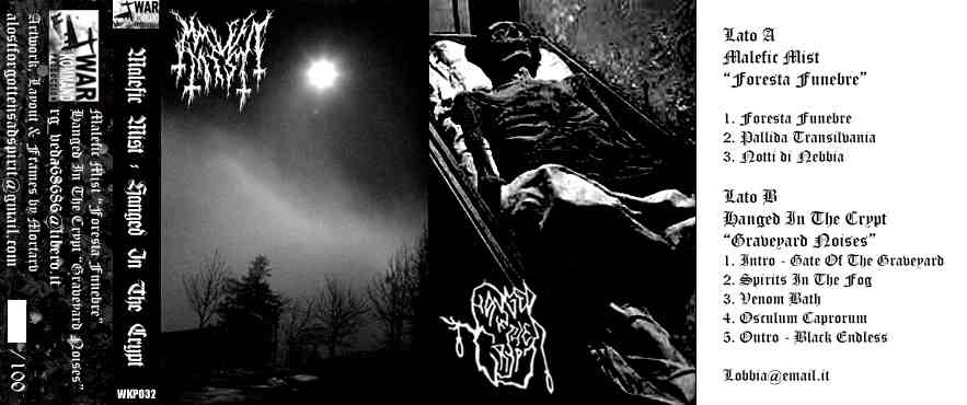 Malefic Mist / Hanged in the Crypt - Malefic Mist / Hanged in the Crypt