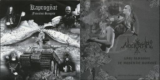 Kaprogöat / Nocratai - Funestus Sanguis / Lady Alkh666l in Mestruo Moment