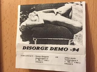 Disorge - Demo '94