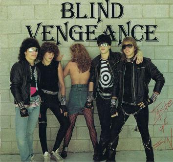 Blind Vengeance - Taste of Sin