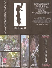 Exhumed - Rehearsal 99-00