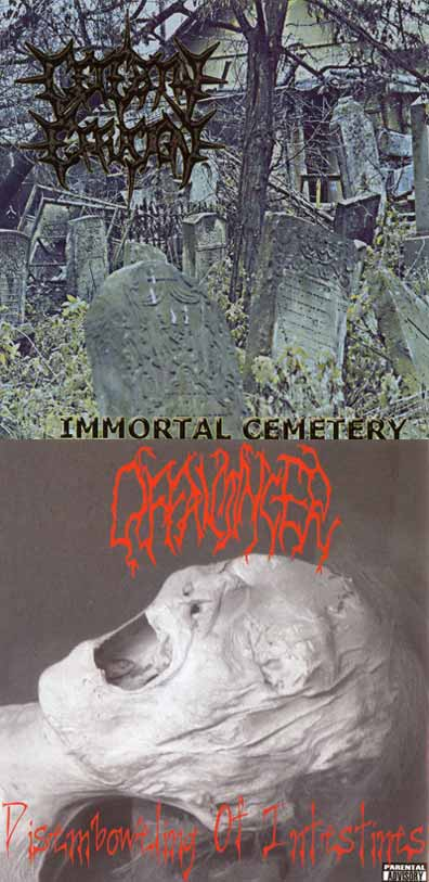 Cerebral Effusion / Offalmincer - Immortal Cemetery / Disemboweling of Intestines