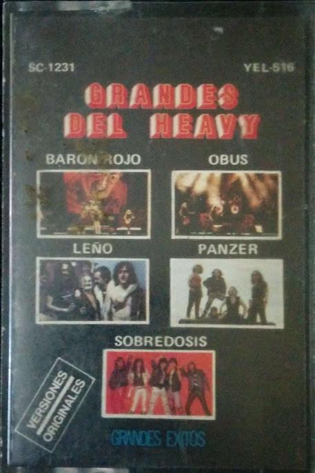 Barón Rojo / Panzer / Obús / Sobredosis - Grandes del Heavy