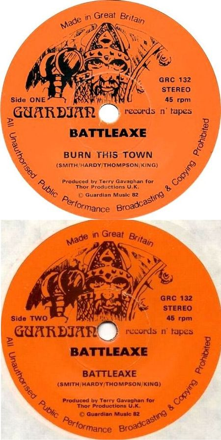 Battleaxe - Burn This Town