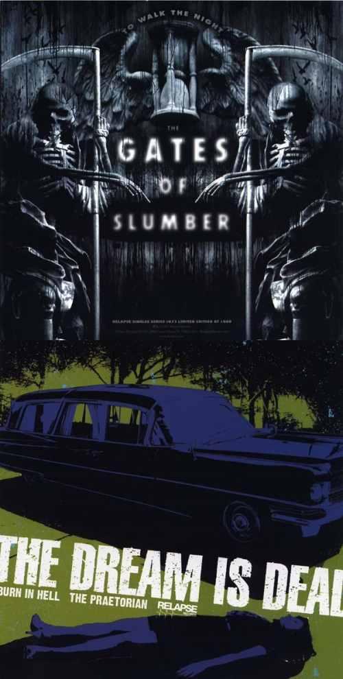 The Gates of Slumber - The Gates of Slumber / The Dream Is Dead