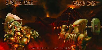 Manilla Road / Brocas Helm - Clash of Iron Vol. I - Live at Keep It True