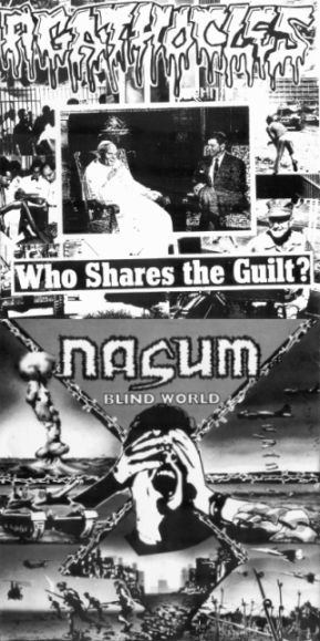 Nasum / Agathocles - Who Shares the Guilt? / Blind World
