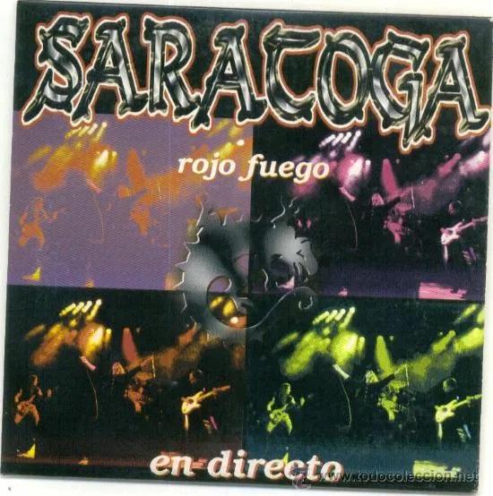 Saratoga - Rojo Fuego (en directo)