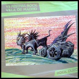 Ático / Criba - VII Festival Rock Villa de Madrid
