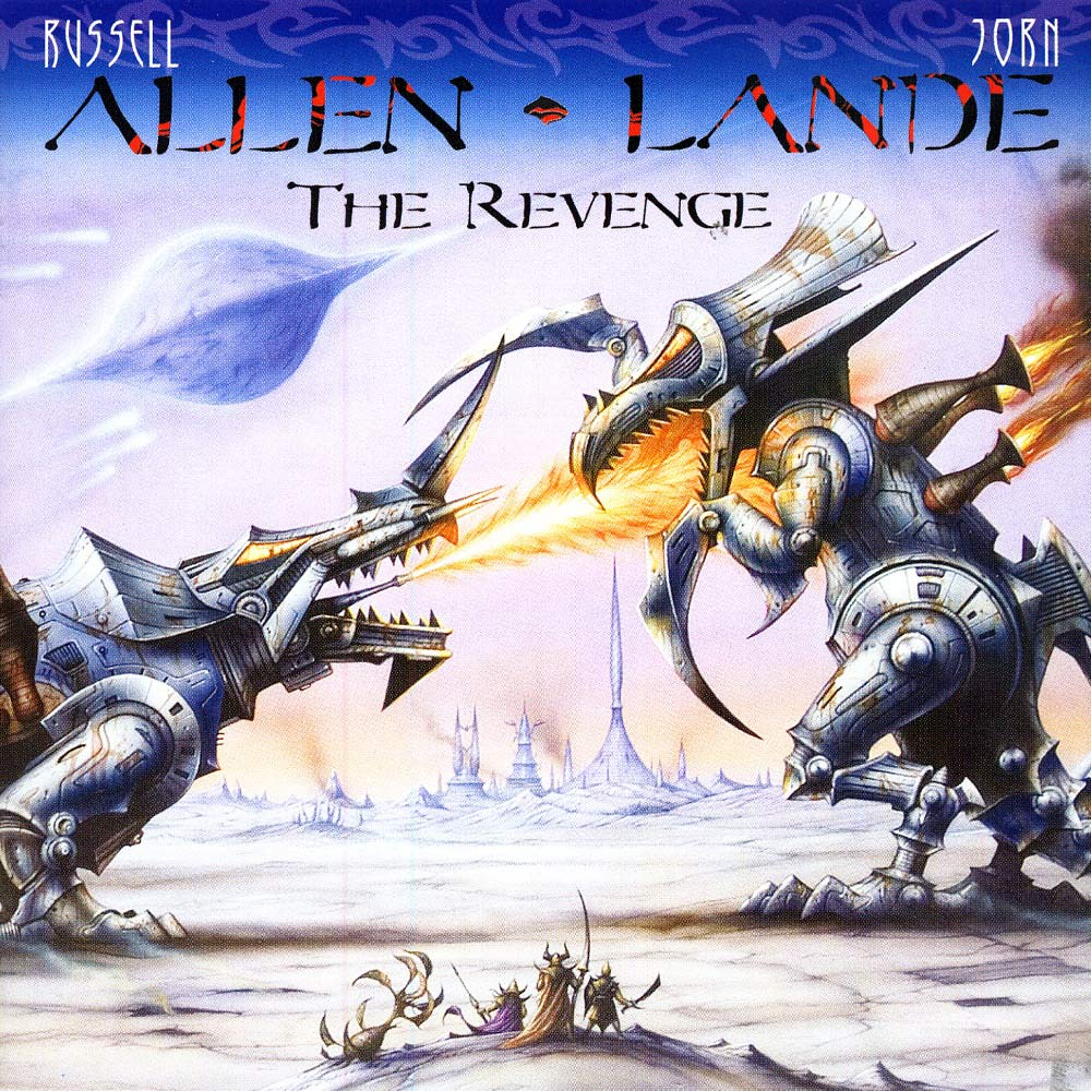 The Revenge cover (Click to see larger picture)