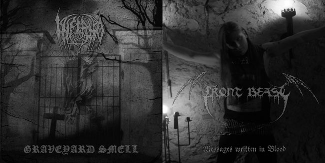 Front Beast / Inferno - Graveyard Smell / Messages Written in Blood