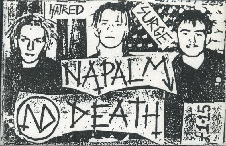 Napalm Death - Hatred Surge