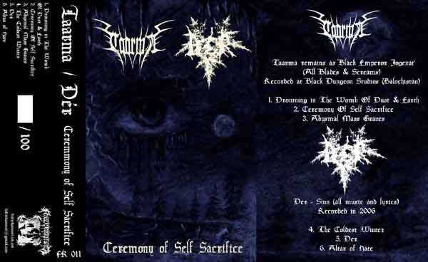 Dér / Taarma - Ceremony of Self Sacrifice
