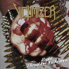 Rapid Thrashing Violence cover (Click to see larger picture)