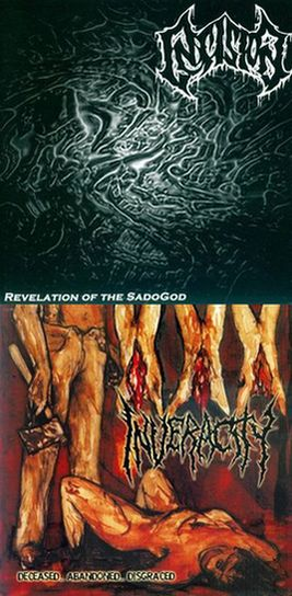 Insision / Inveracity - Revelation of the SadoGod / Deceased... Abandoned... Disgraced