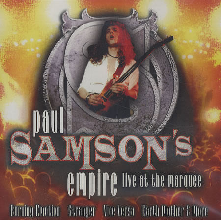 Samson - Live at the Marquee