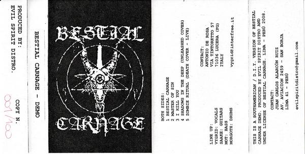 Bestial Carnage - Demo