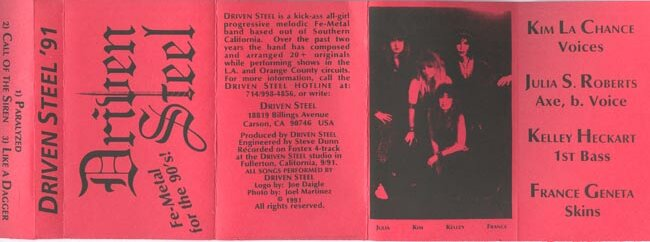 Driven Steel - Demo 1991