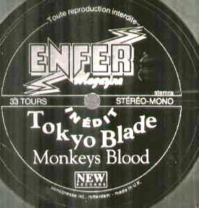 Tokyo Blade - Monkeys Blood