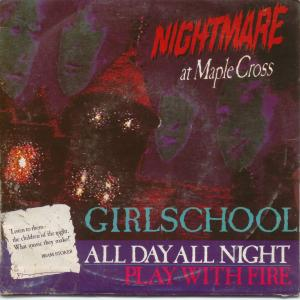 Girlschool - All Day All Night