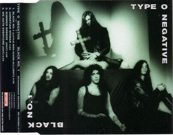 Type O Negative - Black No. 1