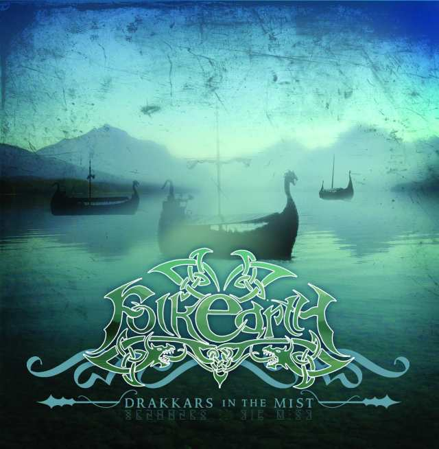 Drakkars in the Mist cover (Click to see larger picture)