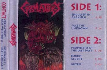 Crematory - Demo 1992