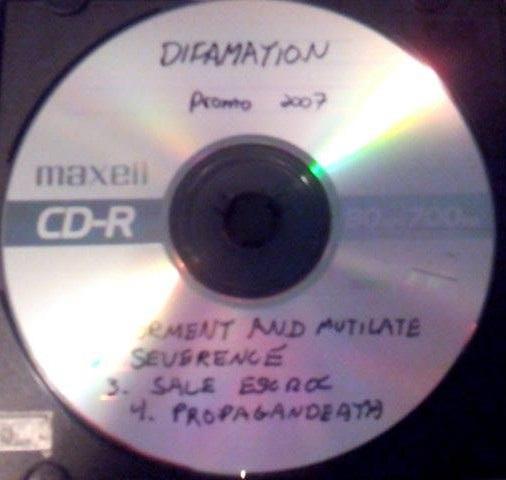 Difamation - Promo