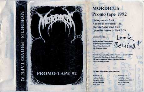 Mordicus - Promo Tape '92