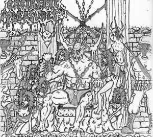 Nuclear Anticristo / Orgiastic Pleasures - Bazooka Goat War Metal