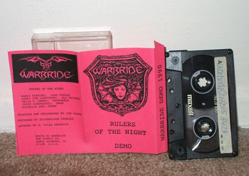 Warbride - Rulers of the Night