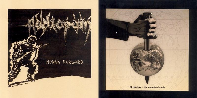 Audiopain / Thesyre - Horns Forward / The Enemy Abroad