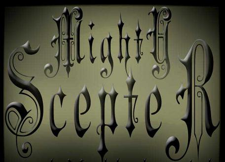Mighty Scepter - Logo