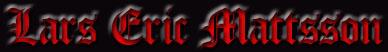 Lars Eric Mattsson - Logo