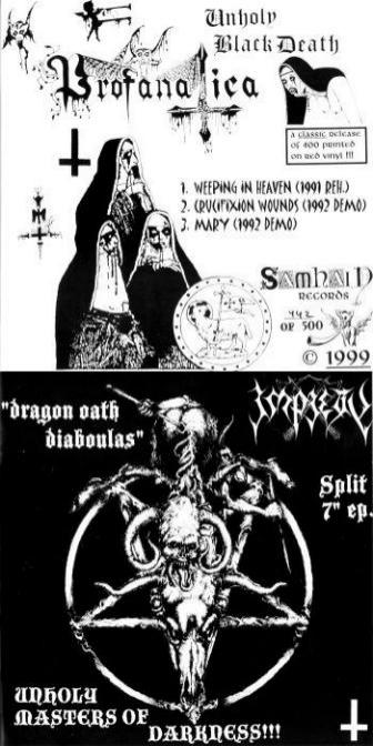Profanatica / Impiety - Unholy Masters of Darkness