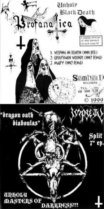 Profanatica / Impiety - Unholy Masters of Darkness