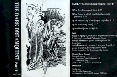Evol - The Dark Dreamquest Part I