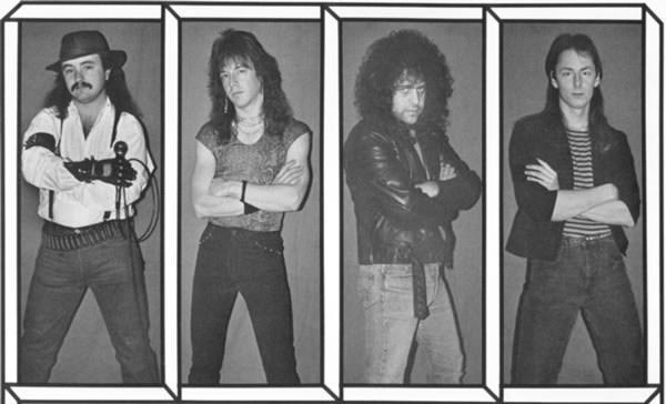 Upper Echelon   Surface Tension (1984) 224k {Metal} preview 0